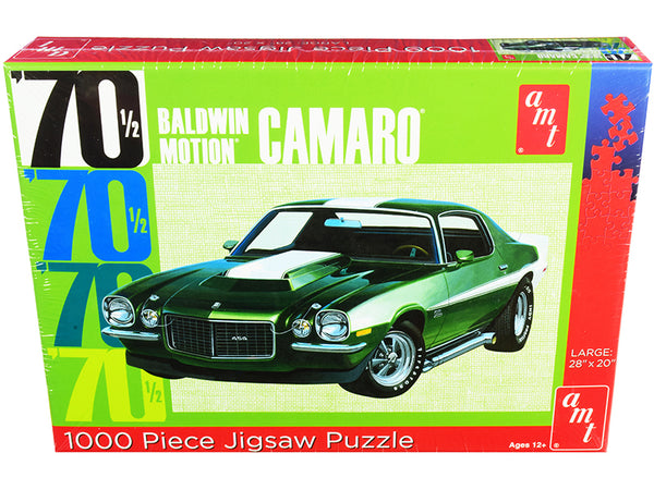 1970 1/2 Baldwin Motion Chevrolet Camaro 1,000 Piece Jigsaw Puzzle by AMT
