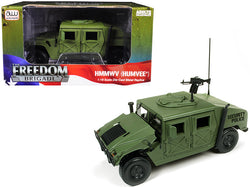 HMMWV SP (Humvee) Olive Green Drab 1/18 Diecast Model by Autoworld
