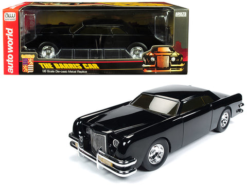 "The Barris Car ""Black Sparkle"" 1/18 Diecast Model Car by Autoworld"
