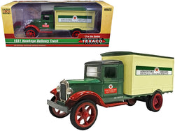 "1931 Hawkeye ""Texaco"" Delivery Truck ""Agricultural Lubricants - The Brands of Texaco Series"" 1/34 Diecast Model by Autoworld"