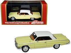 1962 Buick Electra 225 Cameo Cream with White Top Limited Edition to 210 pieces Worldwide 1/43 Model Car by Goldvarg Collection