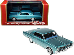 1964 Pontiac Grand Prix Aquamarine Metallic Limited Edition to 210 pieces Worldwide 1/43 Model Car by Goldvarg Collection