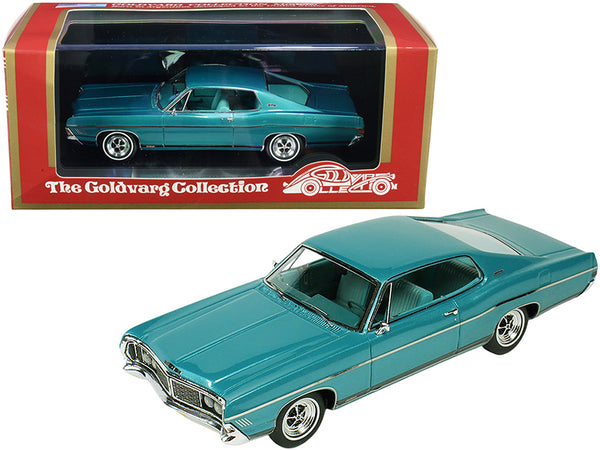 1968 Ford Galaxie 500 XL Gulfstream Aqua Metallic Limited Edition to 220 pieces Worldwide 1/43 Model Car by Goldvarg Collection