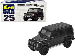 Mercedes Benz AMG G63 Light Black 1/64 Diecast Model Car by Era Car