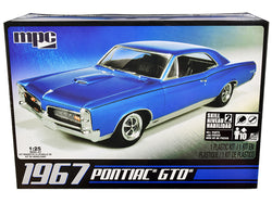1967 Pontiac GTO Plastic Model Kit (Skill Level 2) 1/25 Scale Model by MPC