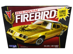 1979 Pontiac Firebird Plastic Model Kit (Skill Level 3) 1/16 Scale Model by MPC