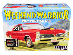 "1967 Pontiac GTO ""Weekend Warrior"" 3 in 1 Plastic Model Kit (Skill Level 3) 1/25 Scale Model by MPC"