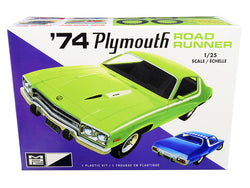 1974 Plymouth Road Runner Plastic Model Kit (Skill Level 2) 1/25 Scale Model by MPC