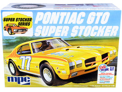1970 Pontiac GTO Super Stocker Plastic Model Kit (Skill Level 2) 1/25 Scale Model by MPC