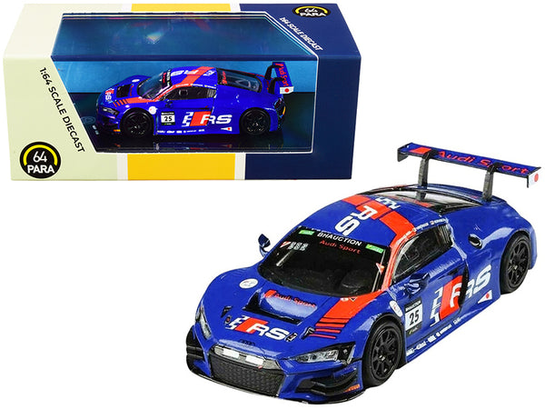 Audi R8 LMS #25 10 Hours Suzuka P1 WRT (2019) 1/64 Diecast Model Car by Paragon