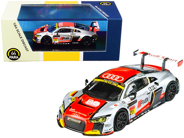 2015 Audi R8 LMS #21 Team Hitosuyama (2016) 1/64 Diecast Model Car by Paragon