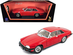 1975 Jaguar XJS Coupe Red 1/18 Diecast Model Car by Road Signature