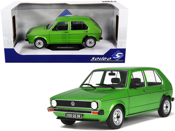 Volkswagen Golf L Viper Green Metallic 1/18 Diecast Model Car by Solido