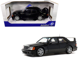 Mercedes Benz 190E Evolution II Black 1/18 Diecast Model Car by Solido