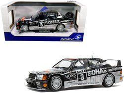 Mercedes Benz 190E 2.5-16 Evolution II #3 Klaus Ludwig DTM Championship (1992) 1/18 Diecast Model Car by Solido