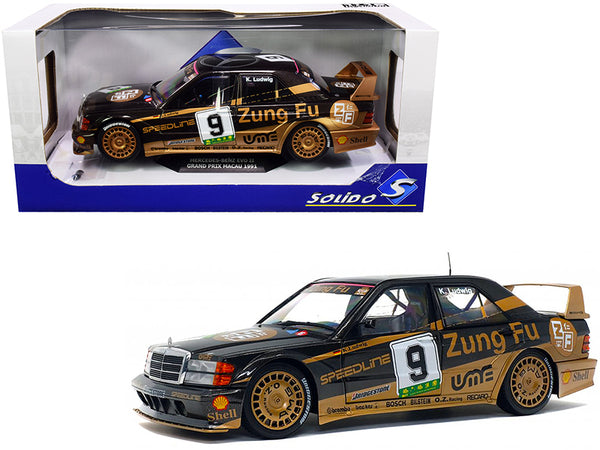 Mercedes Benz 190 Evo II #9 Klaus Ludwig DTM Grand Prix Macau (1991) 1/18 Diecast Model Car by Solido