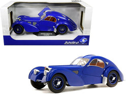 1937 Bugatti Type 57 SC Atlantic Dark Blue 1/18 Diecast Model Car by Solido