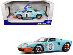 "Ford GT40 MKI #9 ""Gulf Oil"" 24 Hours of Le Mans (1968) 1/18 Diecast Model Car by Solido"
