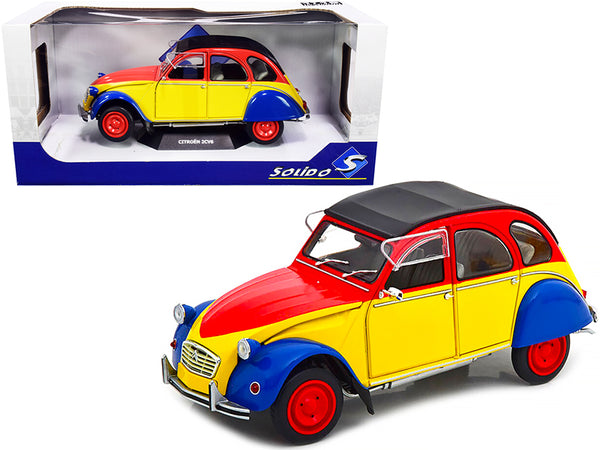 "1985 Citroen 2CV6 Anisee ""Ricard"" 1/18 Diecast Model Car by Solido"
