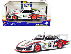 "Porsche 935 RHD (Right Hand Drive) ""Moby Dick"" #43 Manfred Schurti - Rolf Stommelen ""Martini Racing Porsche System"" 24H of Le Mans (1978) ""Competition"" Series 1/18 Diecast Model Car by Solido"