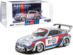 "Porsche RWB 993 #11 Rough Rhythm ""Martini International Club"" ""Kamiwaza Racing"" WebStore Special Edition ""RAUH-Welt BEGRIFF"" 1/43 Diecast Model Car by Tarmac Works"