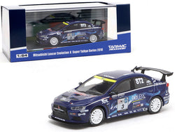 "Mitsubishi Lancer Evolution X #3 Mineo / Murata / Yamauchi \Super Taikyu"" Series (2010) 1/64 Diecast Model Car by Tarmac Works"