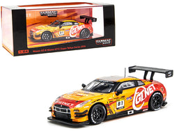 Nissan GT-R Nismo GT3 #81 GTNET Motor Sports Super Taikyu Series (2014) ST-X Class Champion 1/64 Diecast Model Car by Tarmac Works