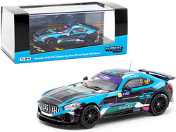 Mercedes AMG GT4 #18 Kevin Tse Winner Greater Bay Area GT Cup Macau (2019) 1/64 Diecast Model Car by Tarmac Works
