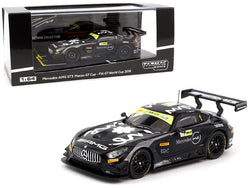 Mercedes AMG GT3 Edoardo Mortara 3rd Place Macau GT Cup FIA GT World Cup (2018) 1/64 Diecast Model Car by Tarmac Works