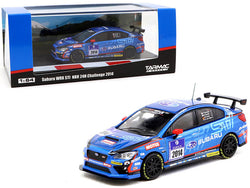 Subaru WRX STI #2014 NBR 24H Challenge (2014) 1/64 Diecast Model Car by Tarmac Works