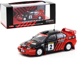 "Mitsubishi Lancer Evolution VI #2 Y. Kataoka - S. Hayashi ""Advan"" Winner Rally of Canberra (1999) 1/64 Diecast Model Car by Tarmac Works"