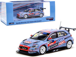 Hyundai i30 N TCR #8 Luca Engstler Champion TCR Malaysia (2019) 1/64 Diecast Model Car by Tarmac Works