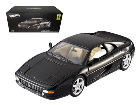 Ferrari F355 Berlinetta Elite Black 1/18 Diecast Model Car by Hotwheels