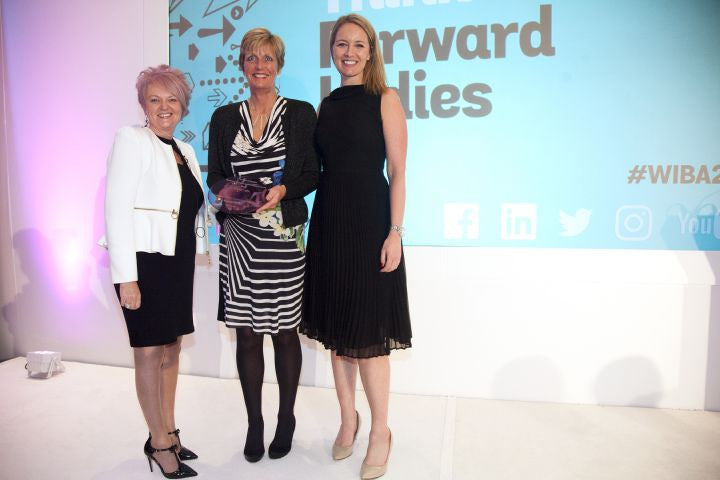 Judith wins at 2016 National Women in Business Awards