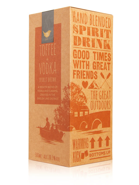 Toffee Vodka Gift Boxed