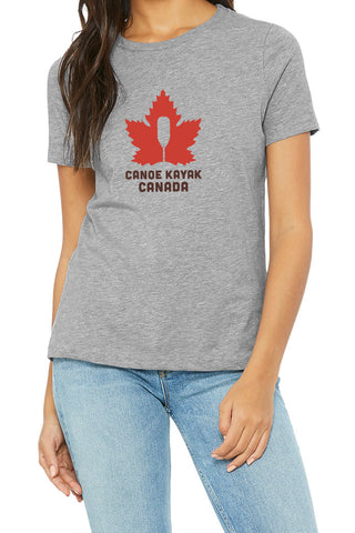 Women's Steadfast Tee - Canadiana - Light Grey / T-shirt Inébranlable pour Femme - Canadien - Light Grey