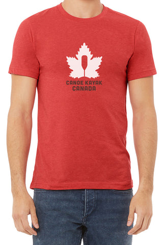 Men's Steadfast Tee - Canadiana - Crimson Red / T-shirt Inébranlable pour Homme - Canadien - Crimson Rouge