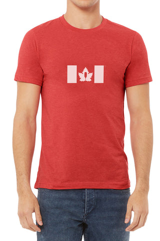 Canada Proud - Men's Steadfast Tee - Crimson Red / T-shirt Inébranlable pour Homme - Canada - Crimson Red
