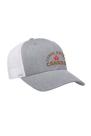 Heritage Trucker  - Heather Grey / White