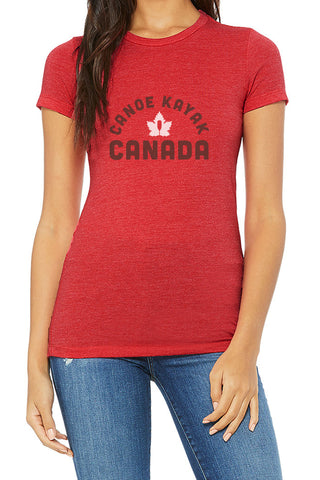 Women's Steadfast Tee - Heritage -  Crimson Red/ T-shirt Inébranlable pour Femme - Héritage - Crimson Red