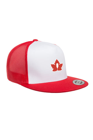 Riverbank Trucker - White / Red