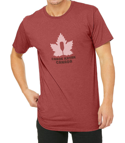 Z -Men's Steadfast Tee - Canadiana - Heather Red / T-shirt Inébranlable pour Homme - Canadien - Rouge