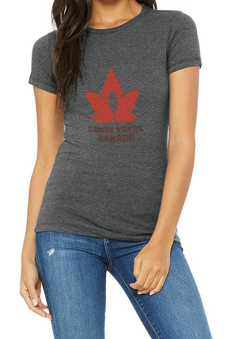 Women's Steadfast Tee - Canadiana - Charcoal / T-shirt Inébranlable pour Femme - Canadien - Charcoal