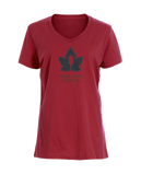 Women's Steadfast Tee - Canadiana - Red / T-shirt Inébranlable pour Femme - Canadien - Rouge