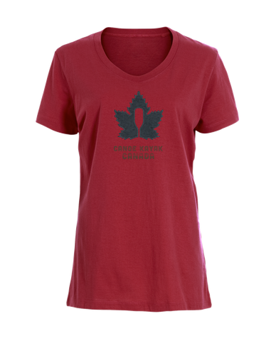 Women's Canadiana steadfast tee (red) / T-shirt Canadien inébranlable pour femme (rouge)