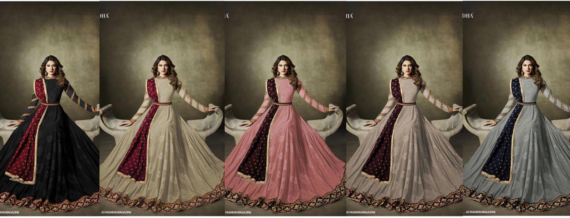 Pakistani anarkali designs latest online shopping
