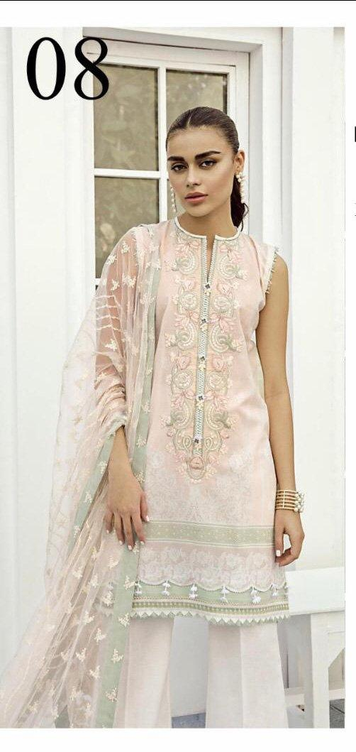 Baroque Linen Winter Design 08 - Asian Suits Online