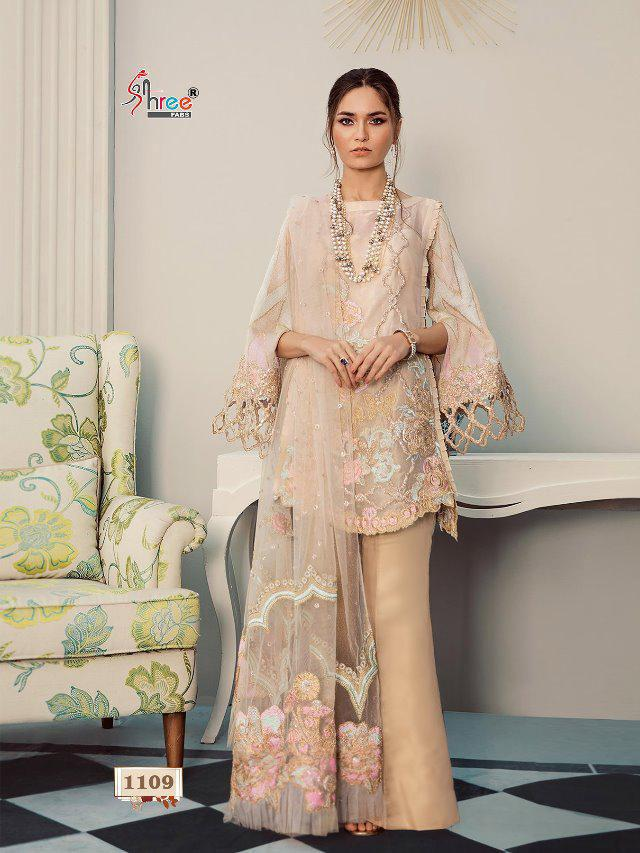 Rouche Shree Inspired Design 1109 - Asian Suits Online