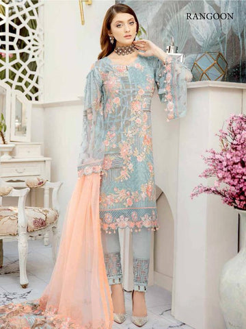 Rangoon Rinaz Inspired Design 2505