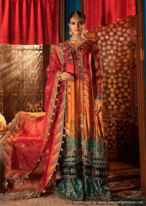 Maria B Wedding Inspired Design 370 - Asian Suits Online